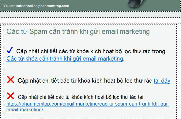 dat-lien-ket-dung-cach-trong-email-marketing